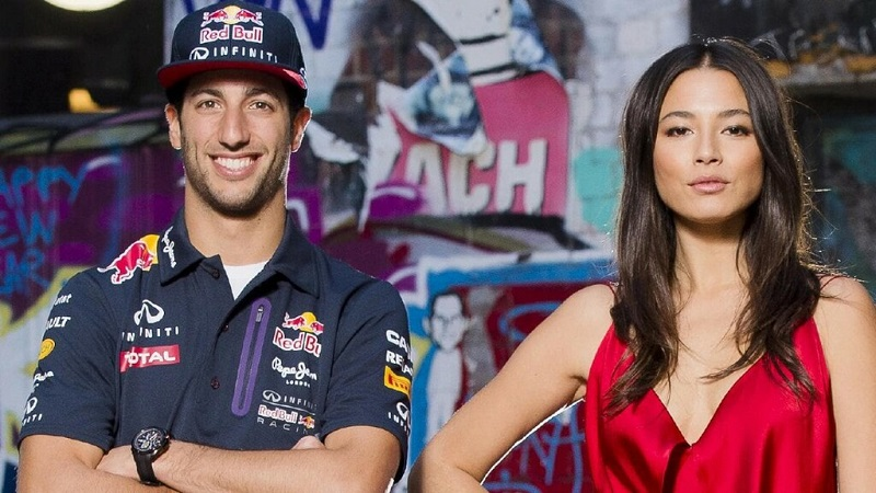Qui est la femme de Daniel Ricciardo